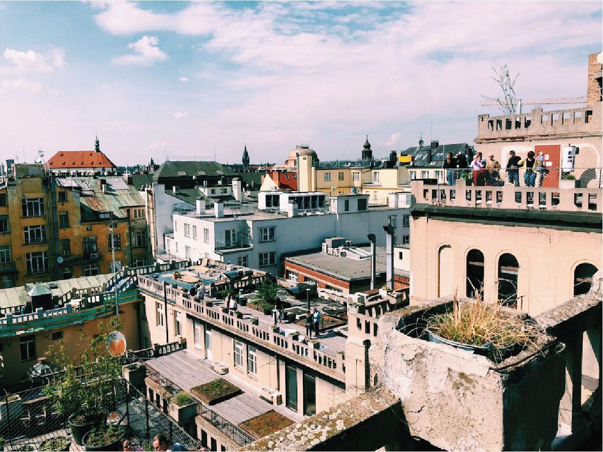 Výhled z Lucerny
